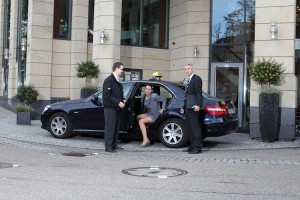 Taxi-Holl Service am Kunden