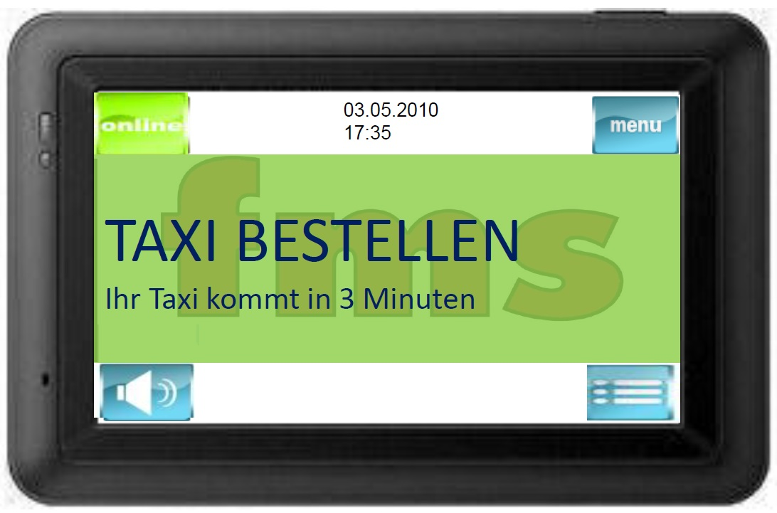 Taxi Holl FMS car Booker Order