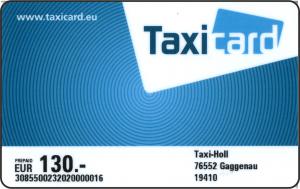 Taxicard Prepaid